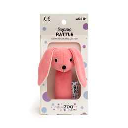Velour helistin Rabbit, pinkki