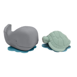 Ingolf the Whale & Dagmar the Turtle