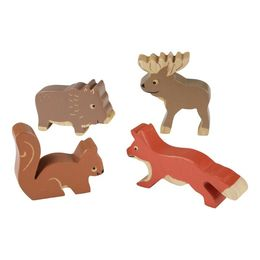 Rubberwood Nordic Forest Animals