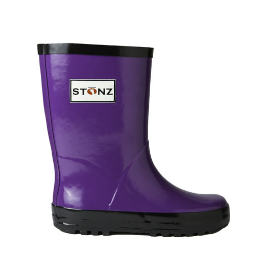 Rain Bootz, Purple/Black - 29